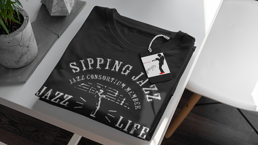 The Jazzsippers Consortium Member T-Shirt