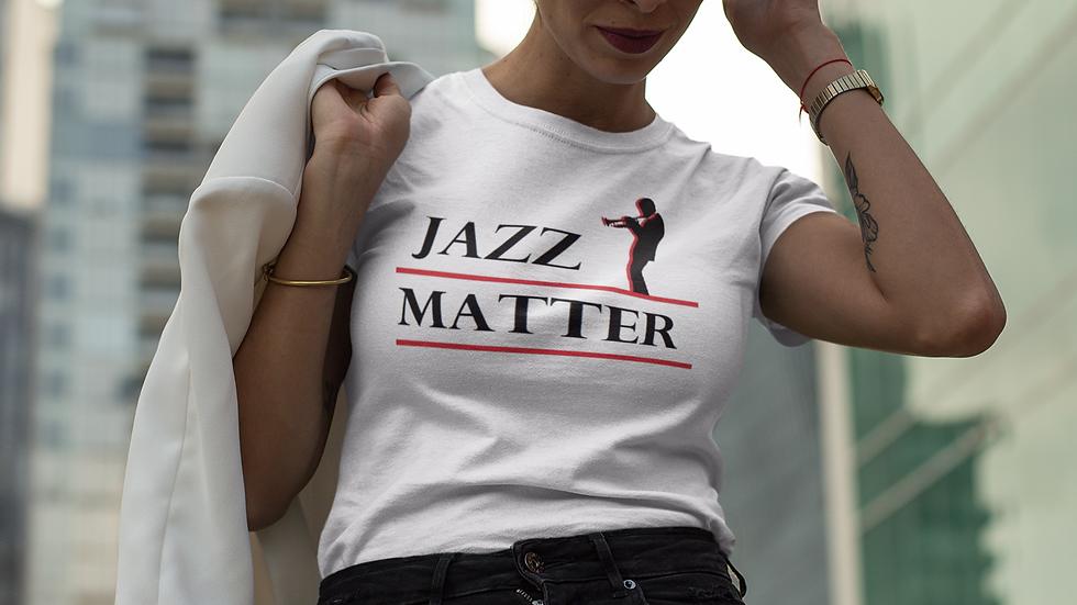 """Advocacy """"Jazz Matter"""" T-shirts"""