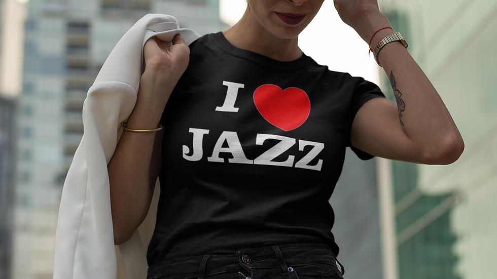 """""""I Love Jazz Heart"""" T-shirts"""