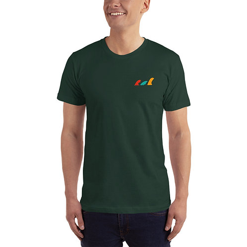 Front Fin High-Quality T-Shirt