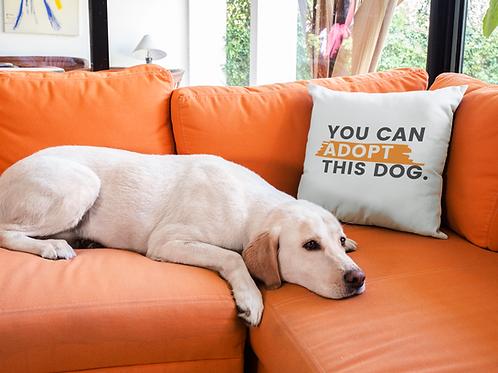 You Can Adopt This Dog Pillow