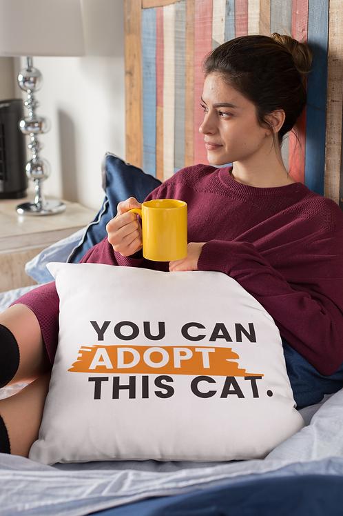 You Can Adopt This Cat Pillow