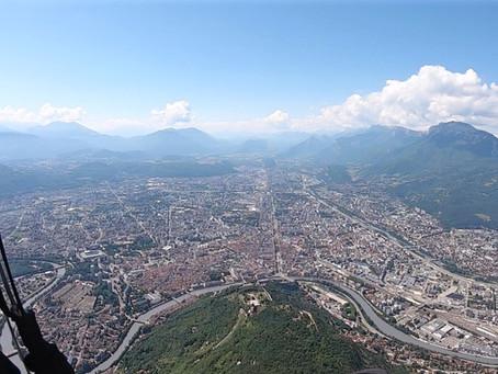 De Praz-Vechin à Grenoble en revenant par le Parmelan : le triangle plat 199 km du 08/06/19