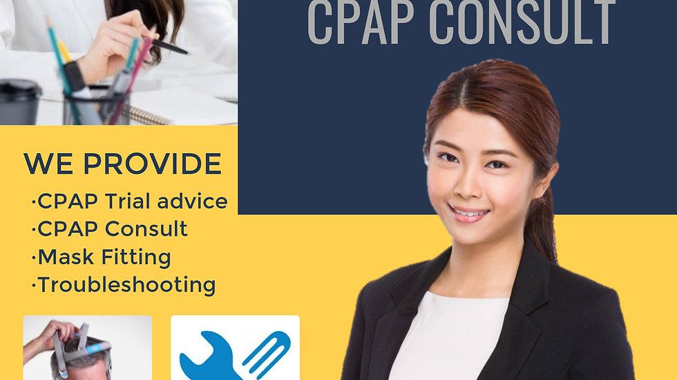 Virtual CPAP Consult*