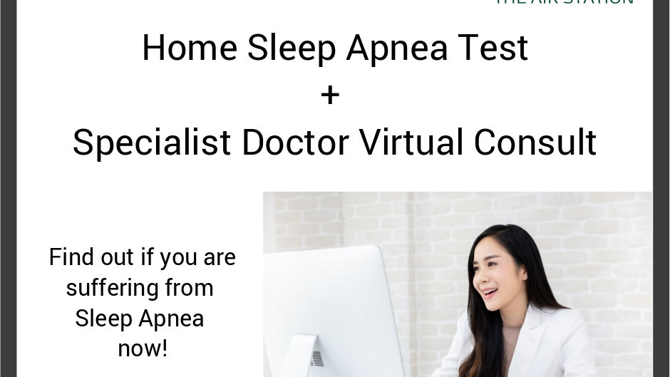 Home Sleep Apnea Test + Virtual Consult with Specialist Dr