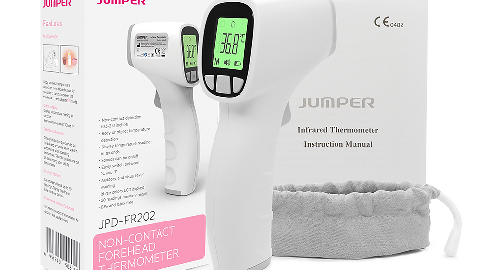 Non Contact InfraRed Thermometer JPD-FR202