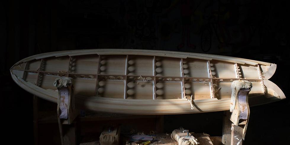 學習親手打造木製衝浪板