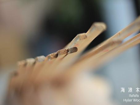 原木空心衝浪板-板緣側邊條製作