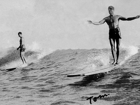 Tom Blake : 原木空心衝浪板的創造者