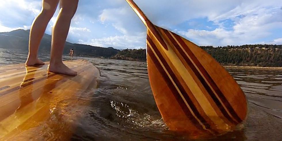 SUP木槳製作課程
