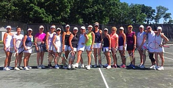 2016 RTA Ladies Tennis Team