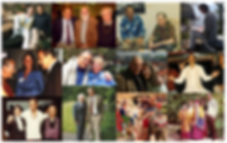Collage of images from Stan Grof's life