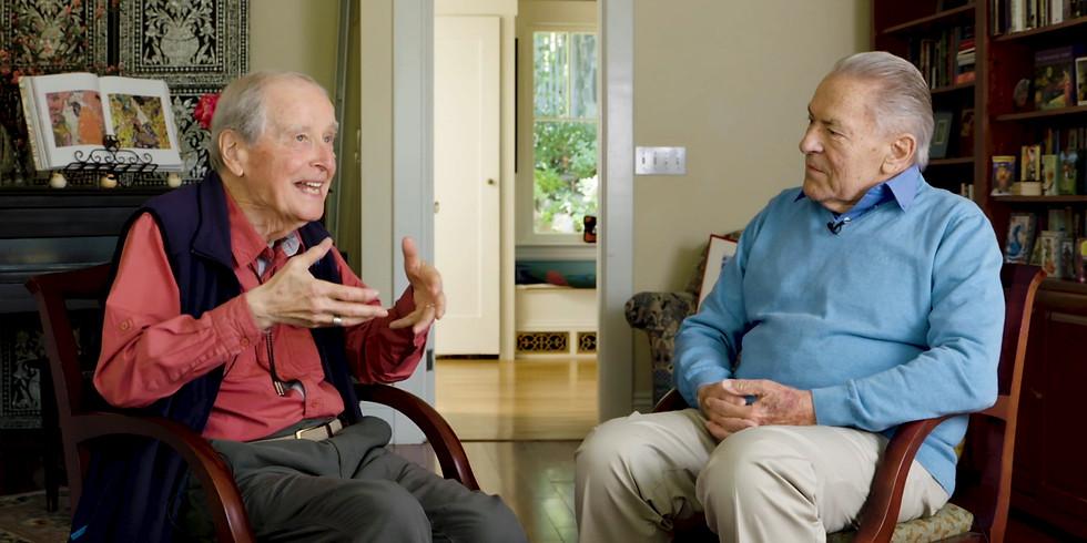 Ralph Metzner, PhD& Stan Grof, MD, PhD Conversation and Live Q&A