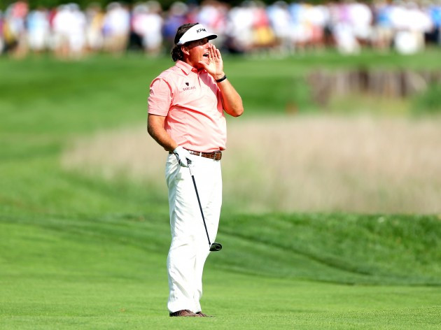 Phil Mickelson roept FORE!