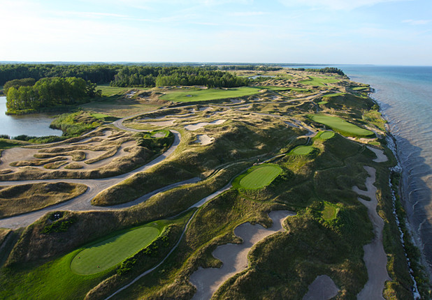 Golfbaan Whistling Straits