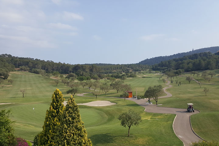 Foto vanaf het terras Arabella Golf Son Muntaner