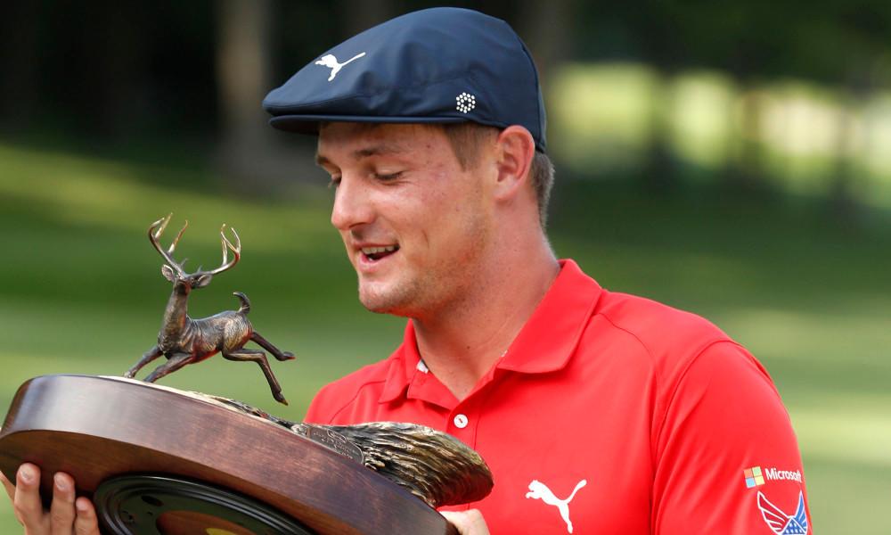 Bryson DeChambeau wint John Deere Classic
