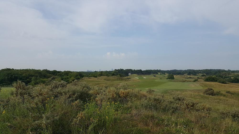 Koninklijke Haagsche Golf & Country Club uitzicht op Den Haag