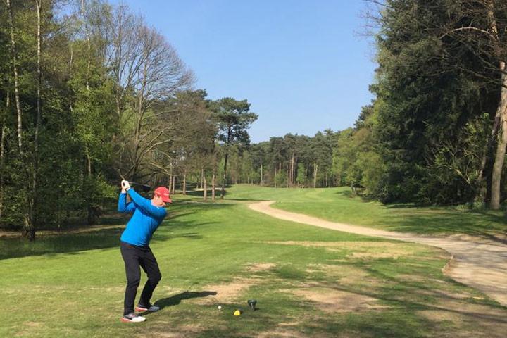 Golfbaan de Herkenbosche hole 1
