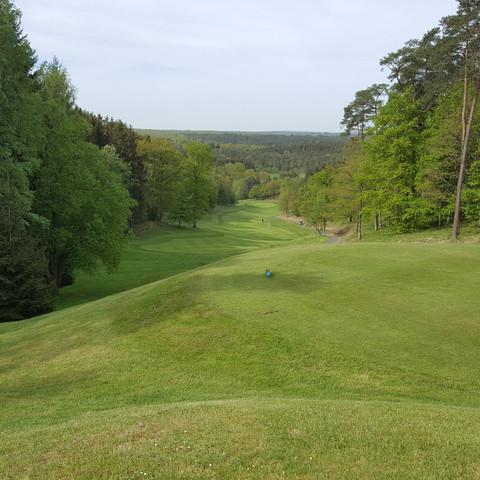 Golftoernooi in de Belgische Ardennen
