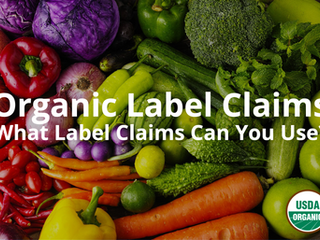 Organic: What Label Claims Can You Use?