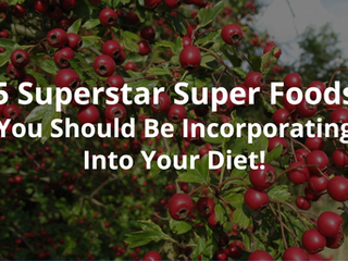 5 Superstar Super Foods You Should Be Incorporating Into Your Diet!