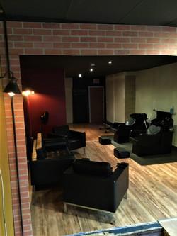 Lounge / Backwash area