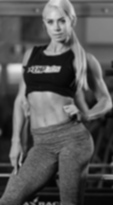 A photo of EHP Labs Athletic Lauren Simpson on the Suppzone delivery information page.