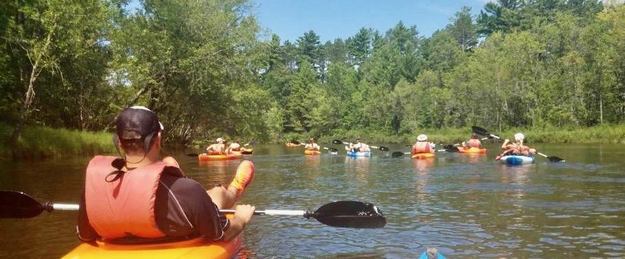 Kayaking Up North