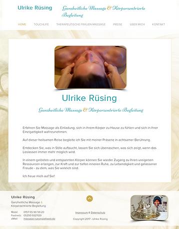 www.iWeb-design.de Webdesign & Marketing Ulrike Rüsing