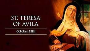 TERESA, ÁVILA's GIFT
