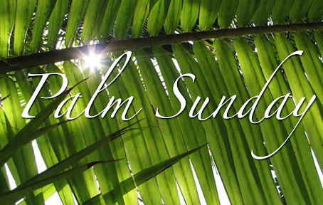 PALM SUNDAY IN LOCKDOWN