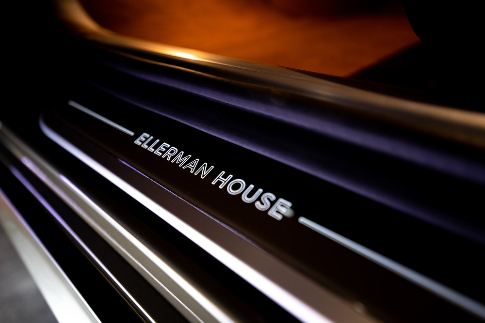 The BMW custom crafted for Ellerman House in Capetown, South Africa.