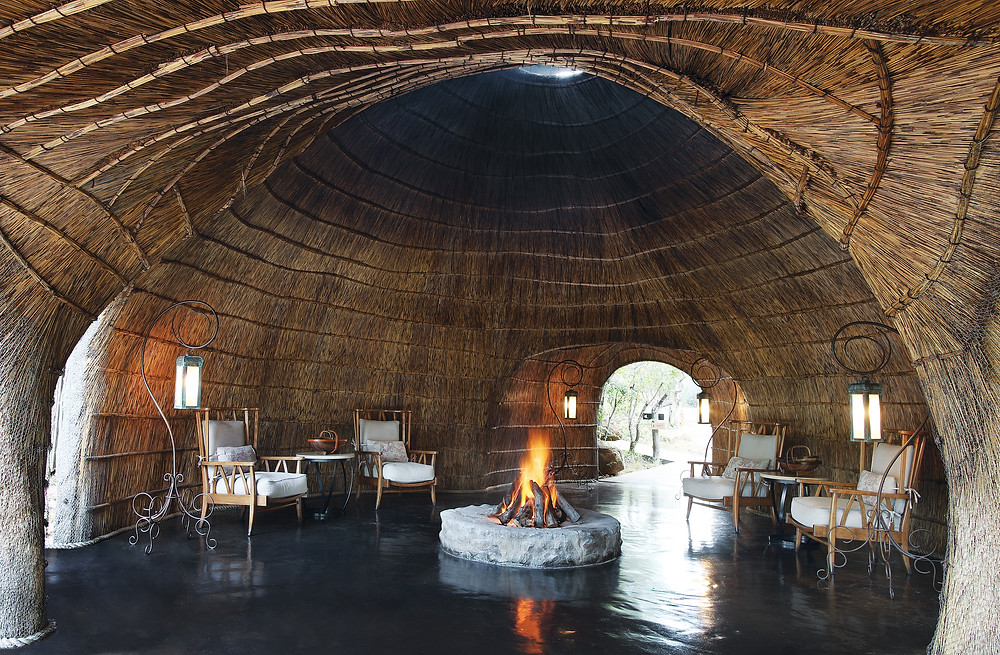 The Zulu Camp at Shambala Private Game Reserve in South Africa.