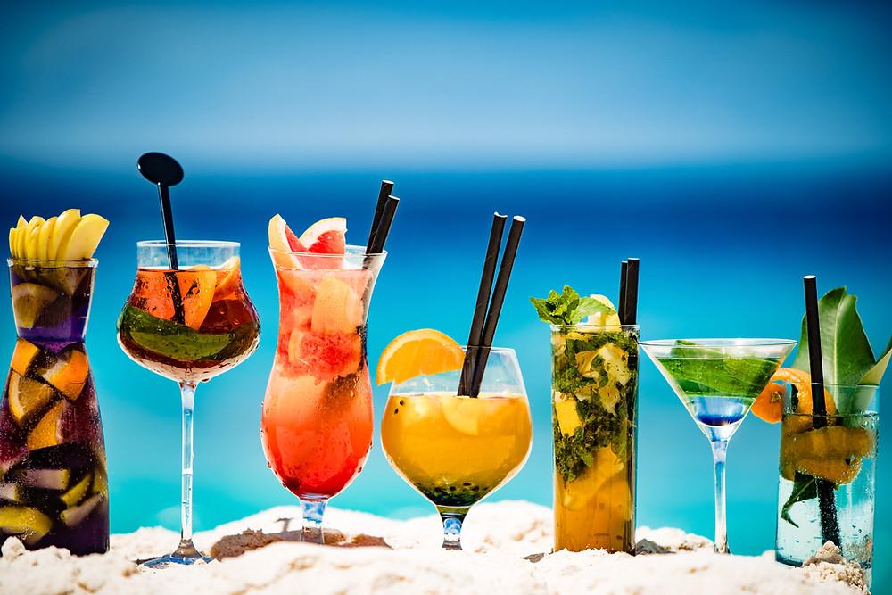 Cocktails at Fregate Island