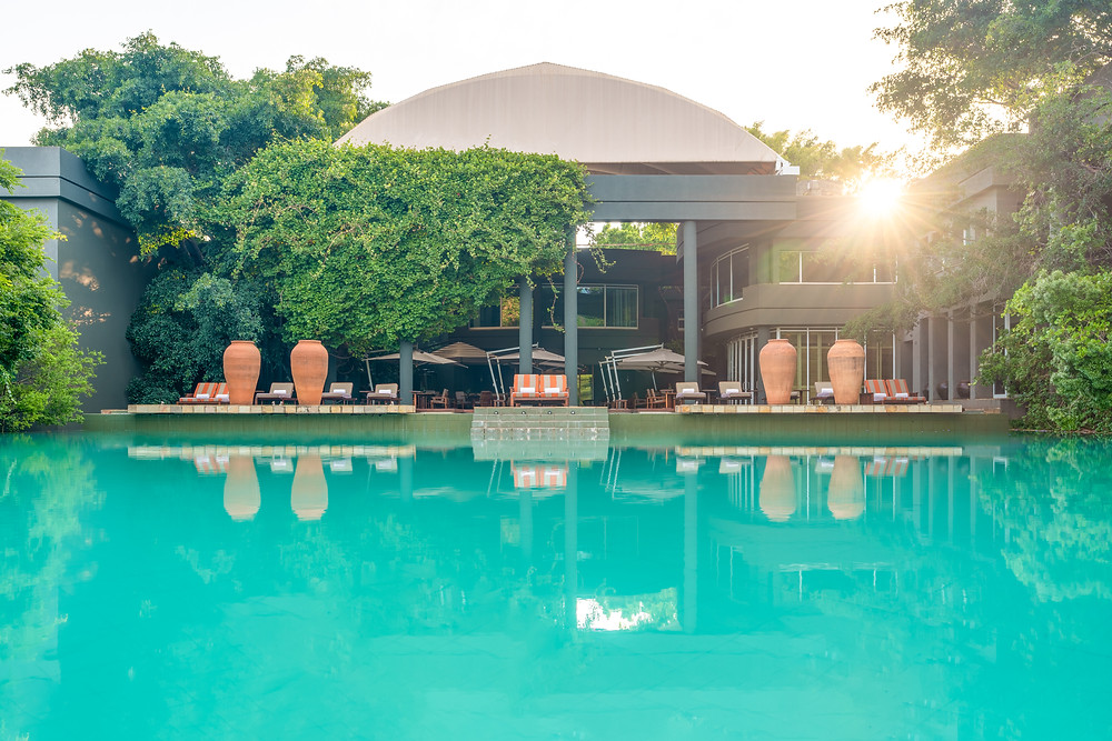The Saxon Hotel, Villas and Spa in Johannesburg, South Africa.