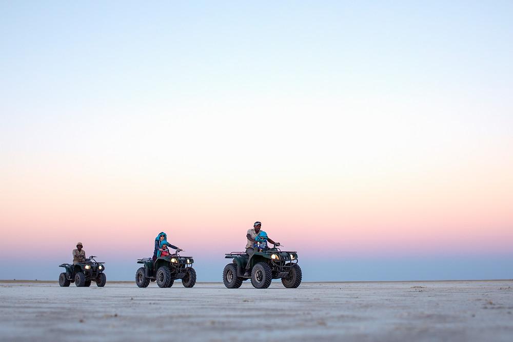 Makgadikgadi desert
