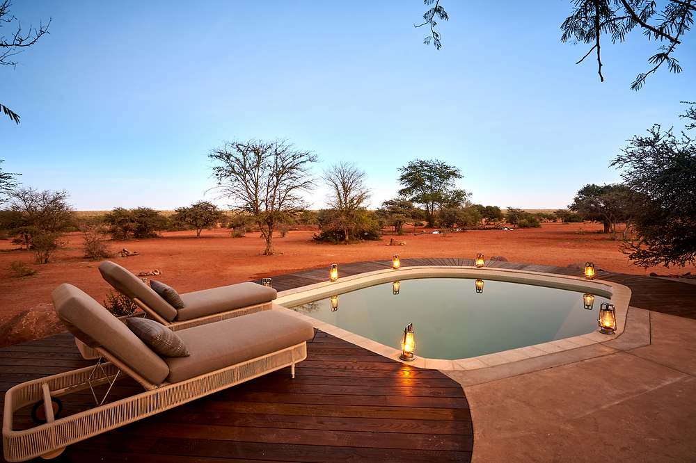 The Motse Suite at Tswalu Kalahari Reserve in South Africa.