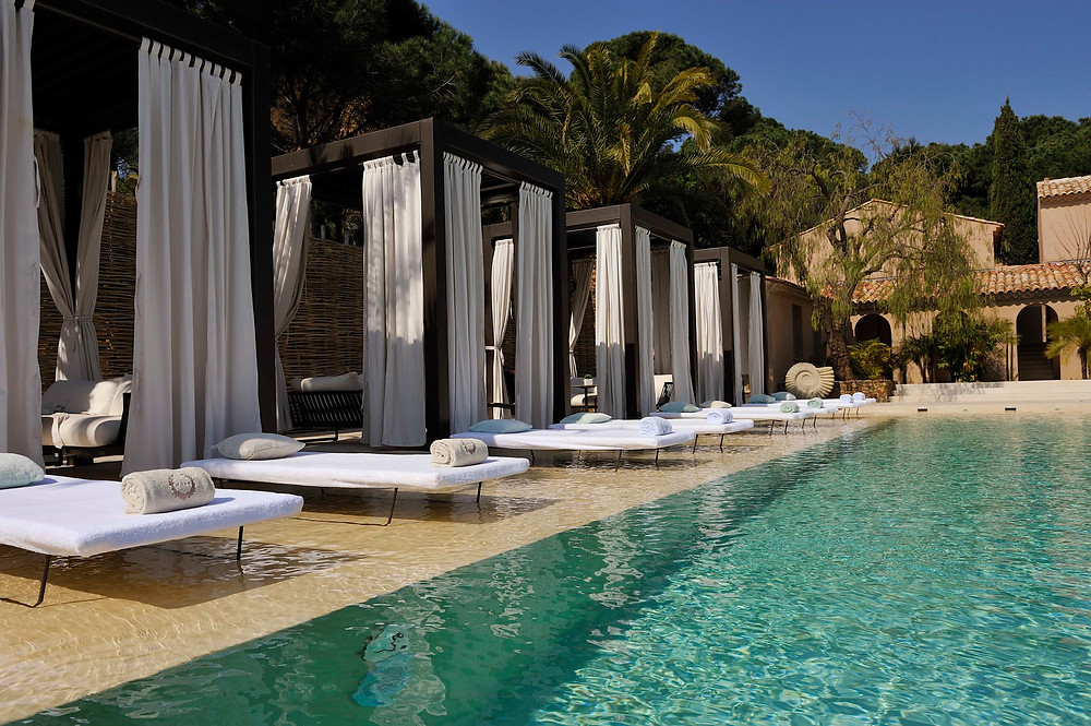 The pool at the Muse St. Tropez
