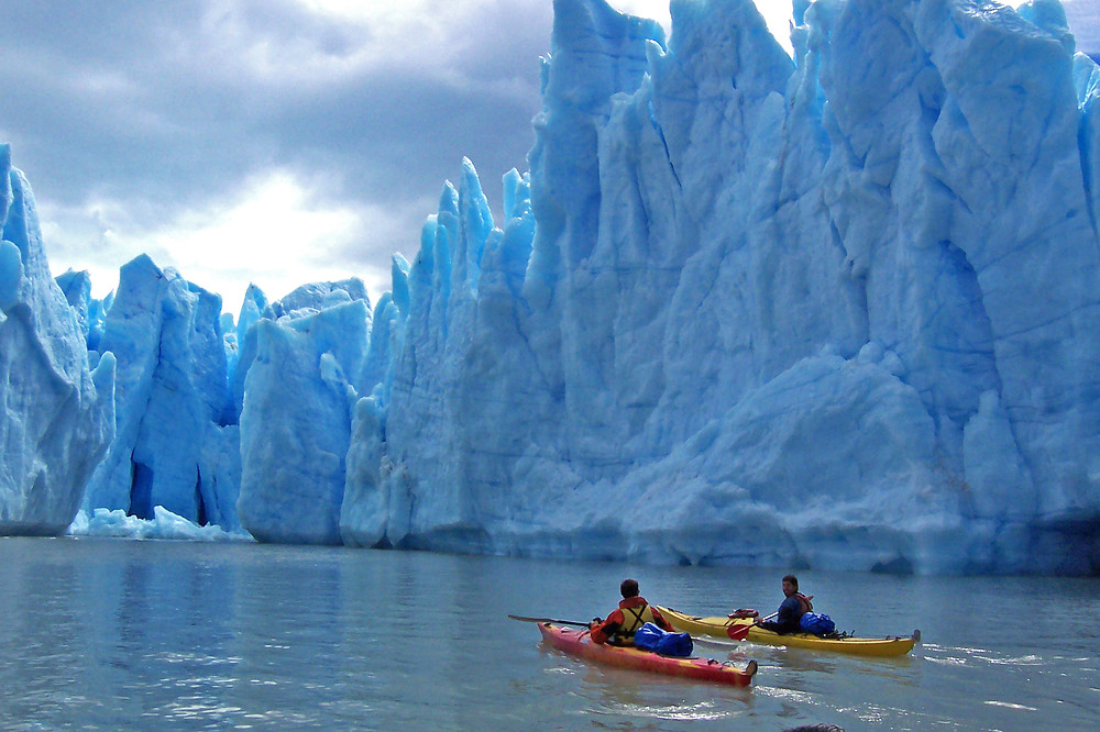 Kayaking in Patagonia with Quasar Expeditions.