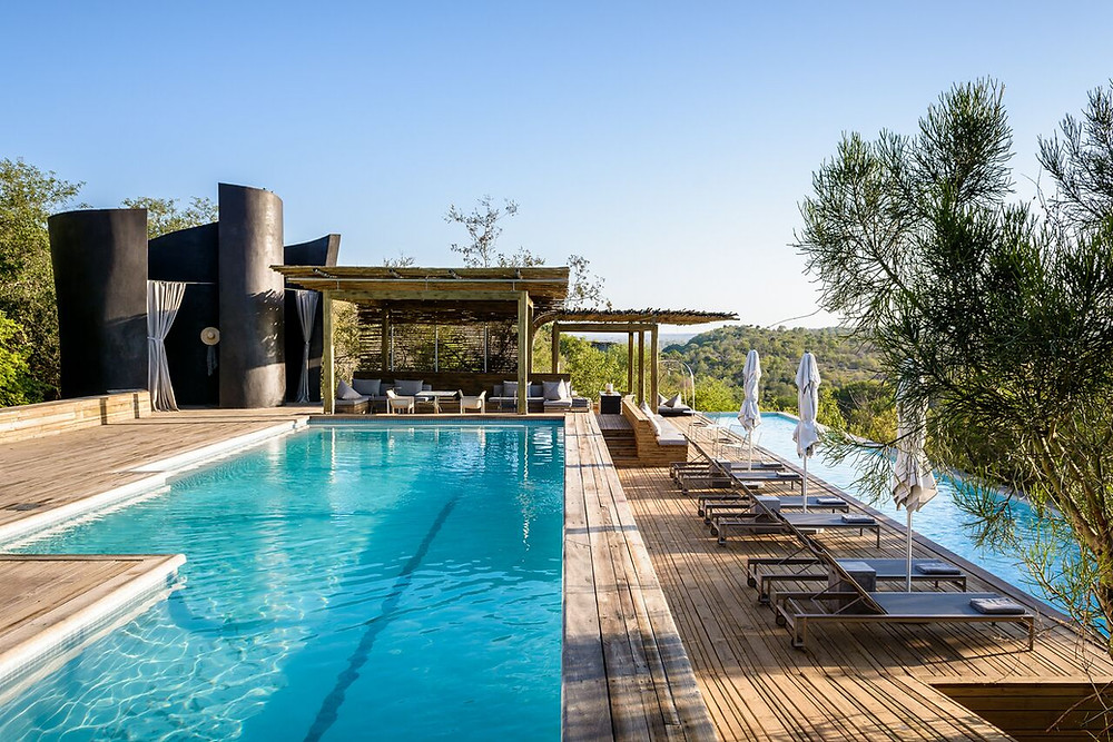 Pool at Singita Kruger National Park in South Africa