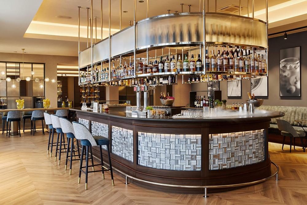 The P41 Bar at Hotel Arts Barcelona.
