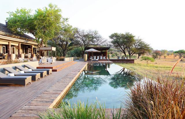 Serengeti House at Singita Lodge in the Grumeti Game Reserve in Tanzania.