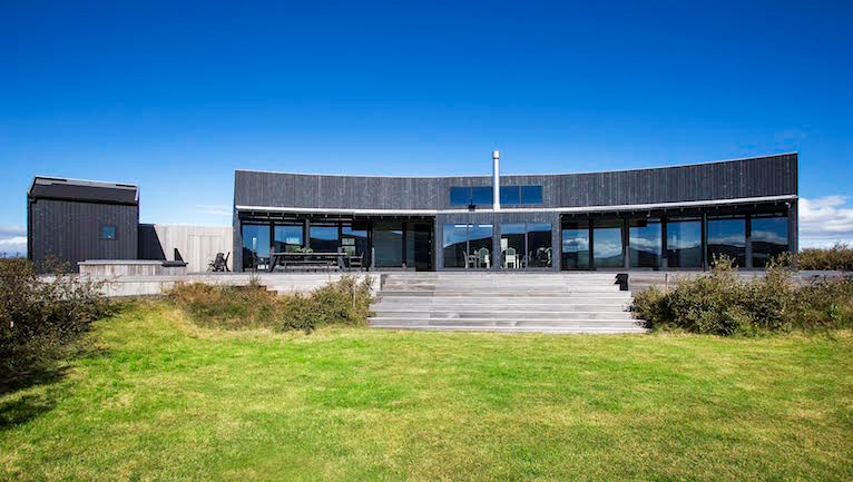 A modern home in Selfloss, Iceland available for rent through THIRDHOME.