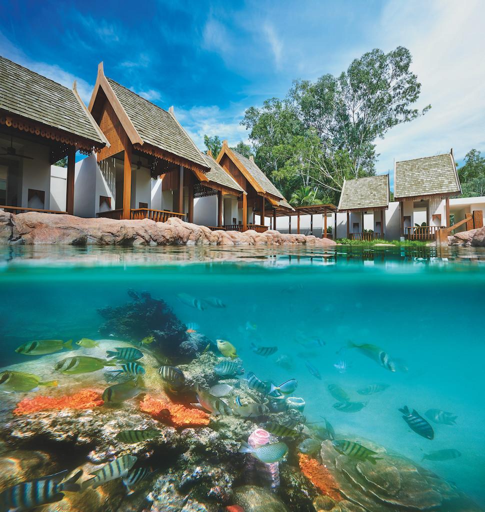 The Swim Reef at the Ritz Carlton Koh Samui.