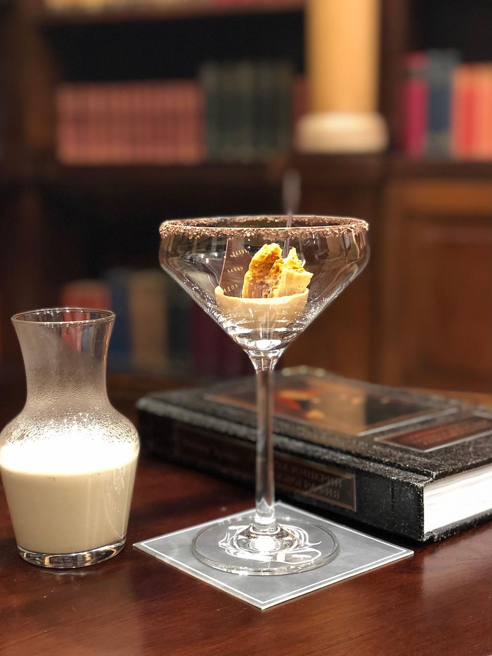 Mocktail, Saxon, Cocktail, Honey Badger, Vanilla Bean Chai