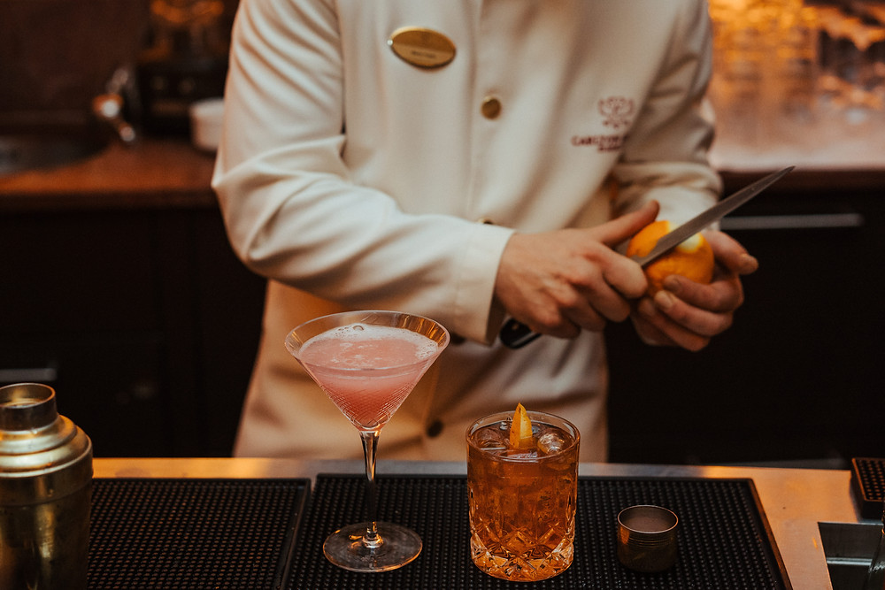Carlton Hotel St. Moritz Cocktails