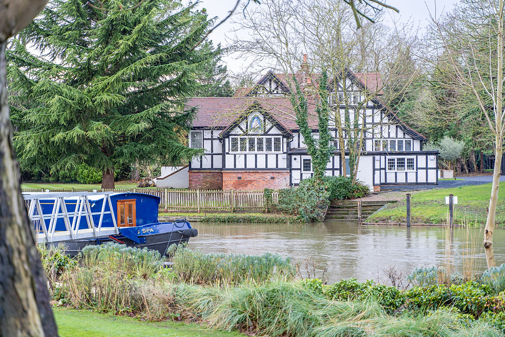 The private residence homes at Monkey Island Estates, a YTL Hotel, in England.
