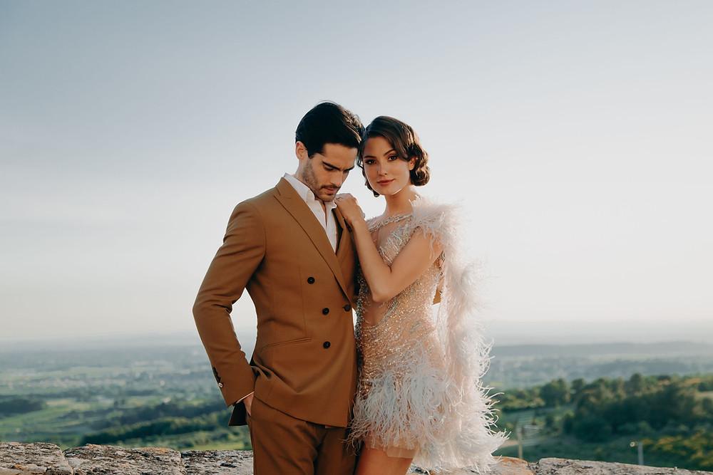 couple wedding France