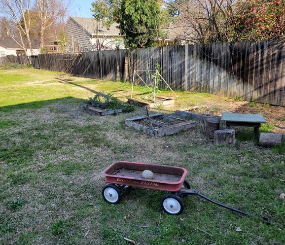 Before: RUMC Yard and Garden